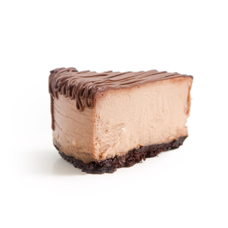 NF Chocolate Cheesecake slice