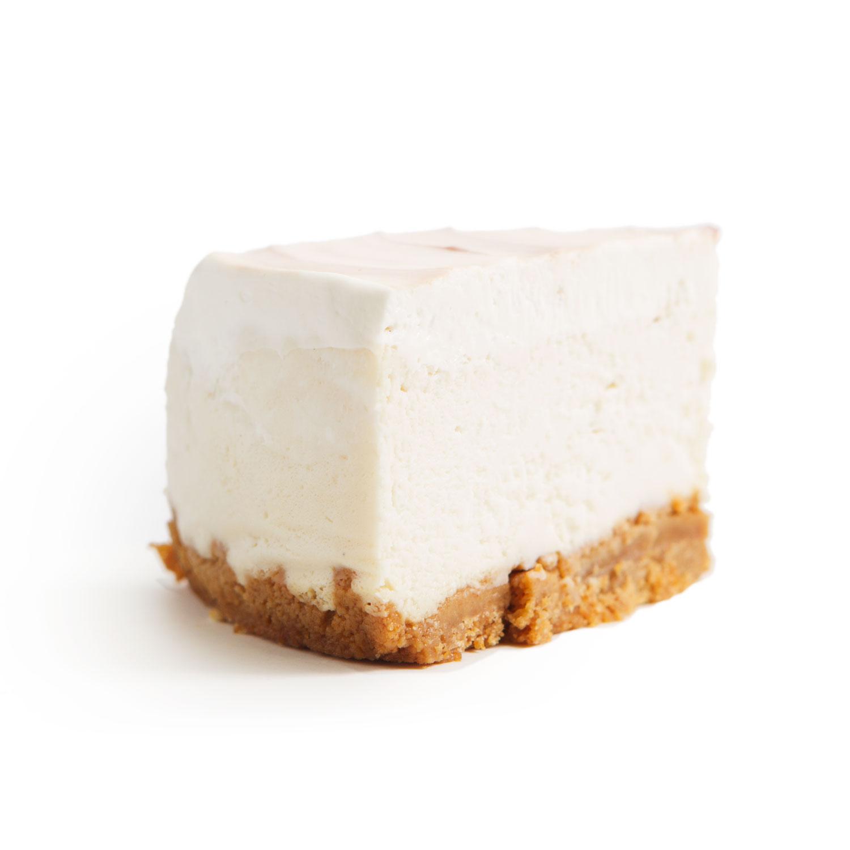 NF Vanilla Bean Cheesecake slice