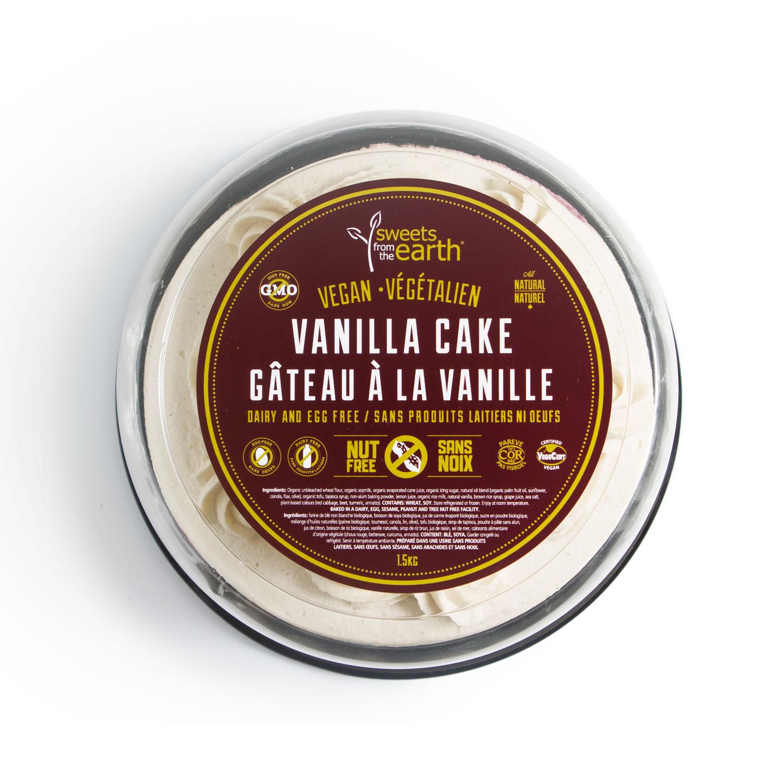 NF Vanilla Cake 7-inch dome top