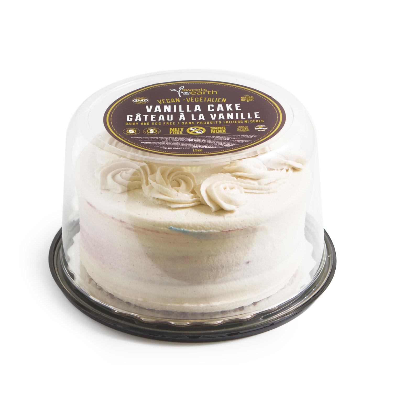 NF Vanilla Cake 7-inch dome