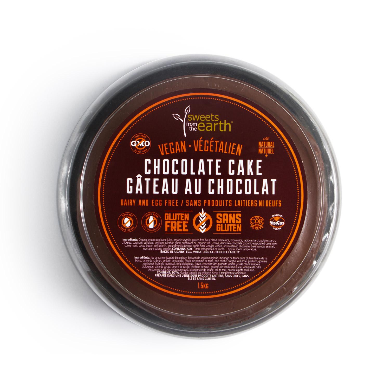 GF Chocolate Cake 7-inch dome top