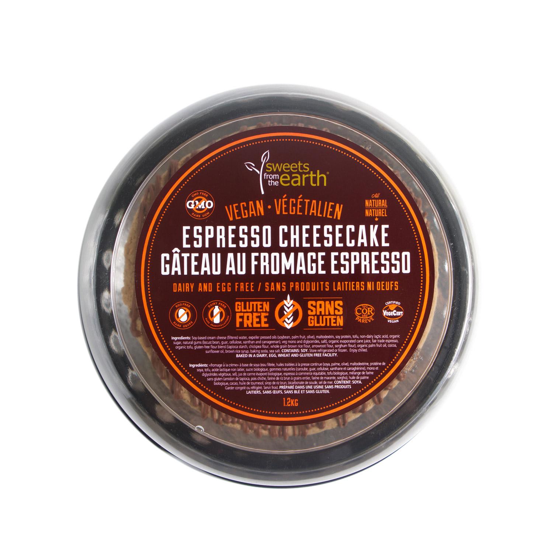 GF Espresso Cheesecake 7-inch Dome top