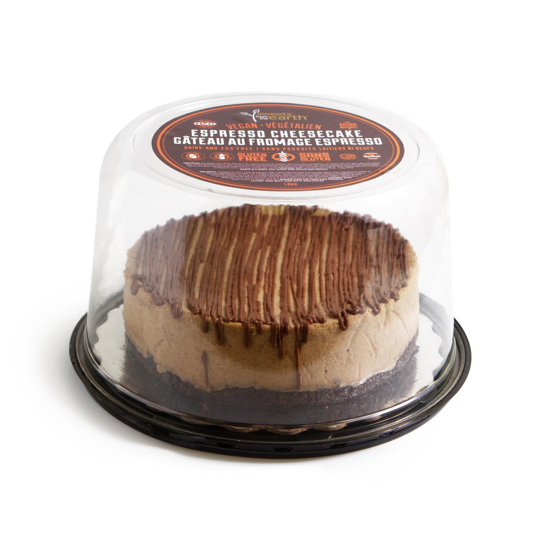 GF Espresso Cheesecake 7-inch dome
