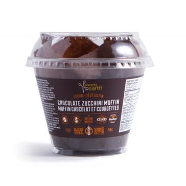 GF Chocolate Zucchini Muffin cup