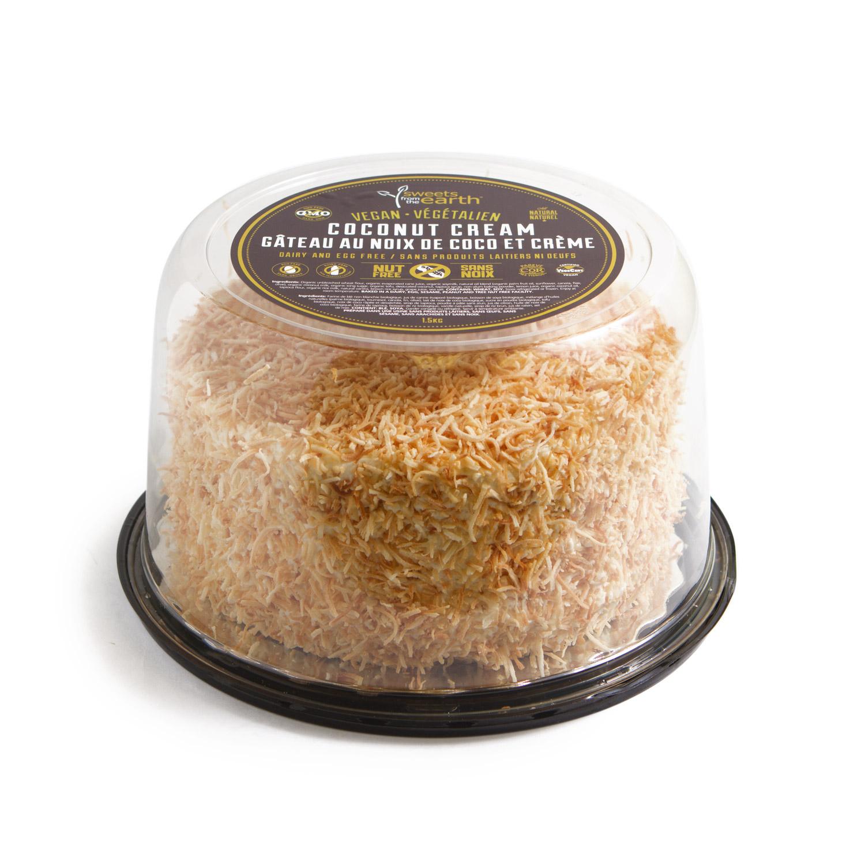 NF Coconut Cream Cake 7-inch Dome