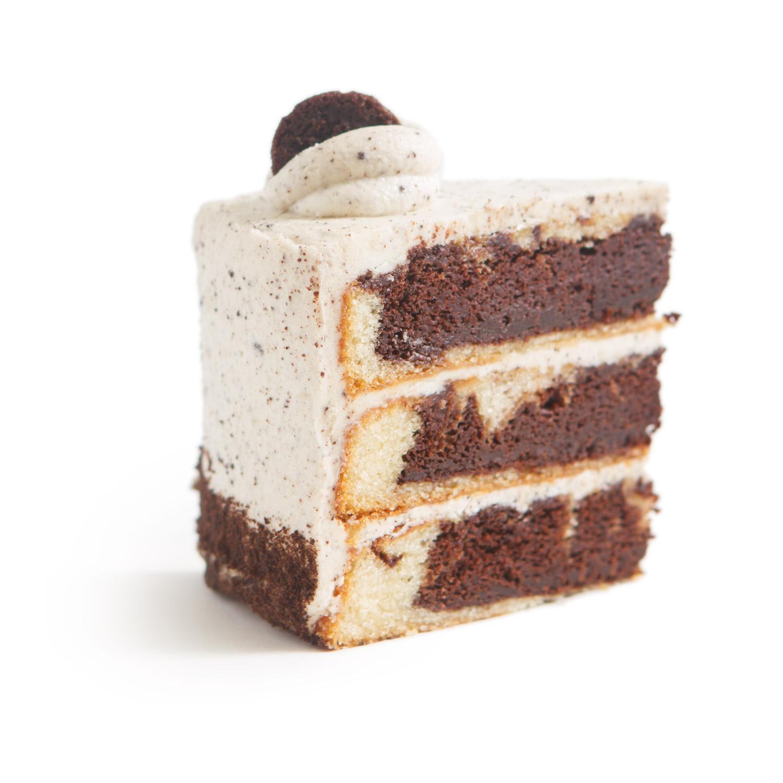 NF Cookies n Cream Cake slice