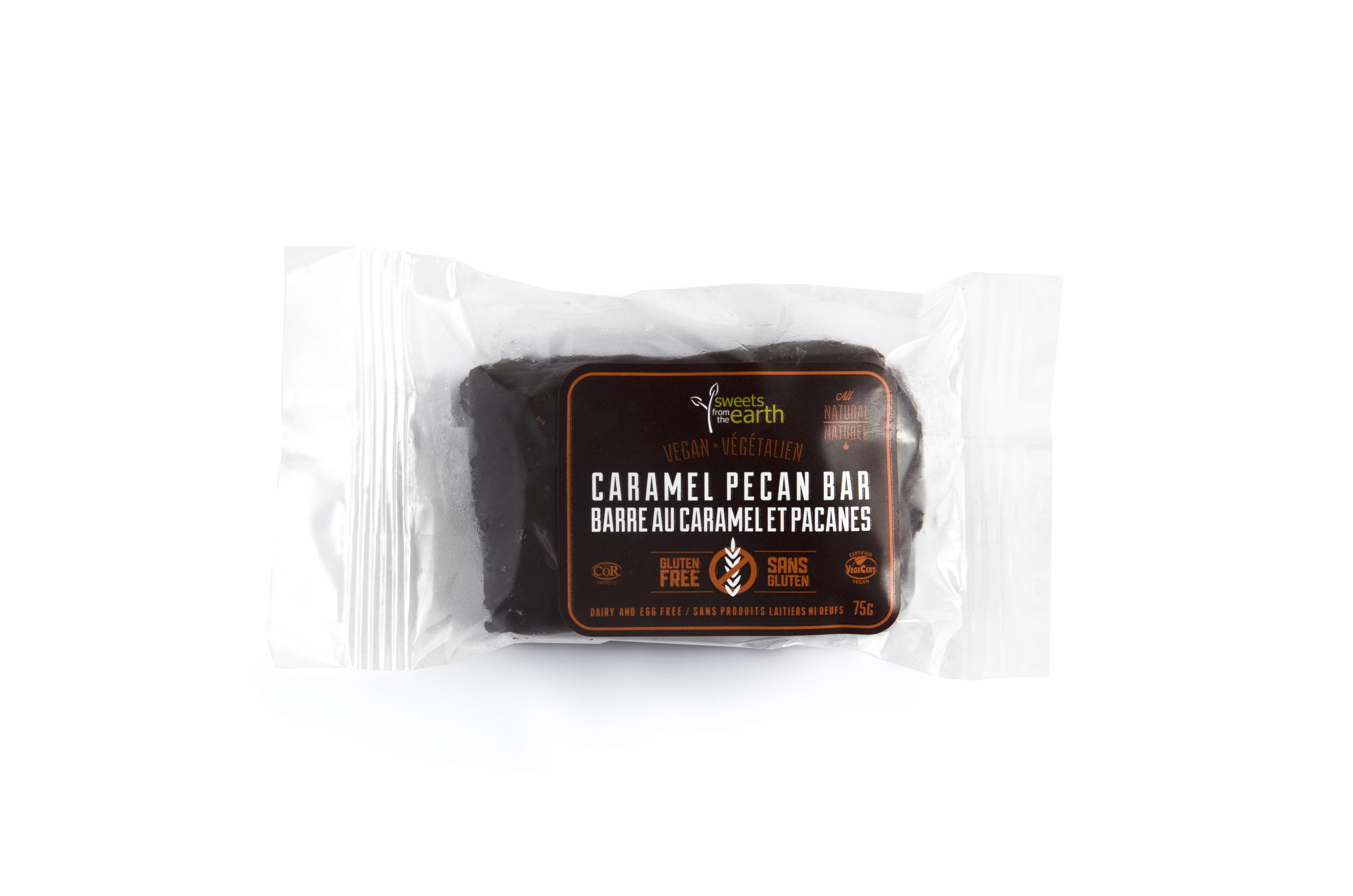 GF Caramel Pecan Bar front wrapped