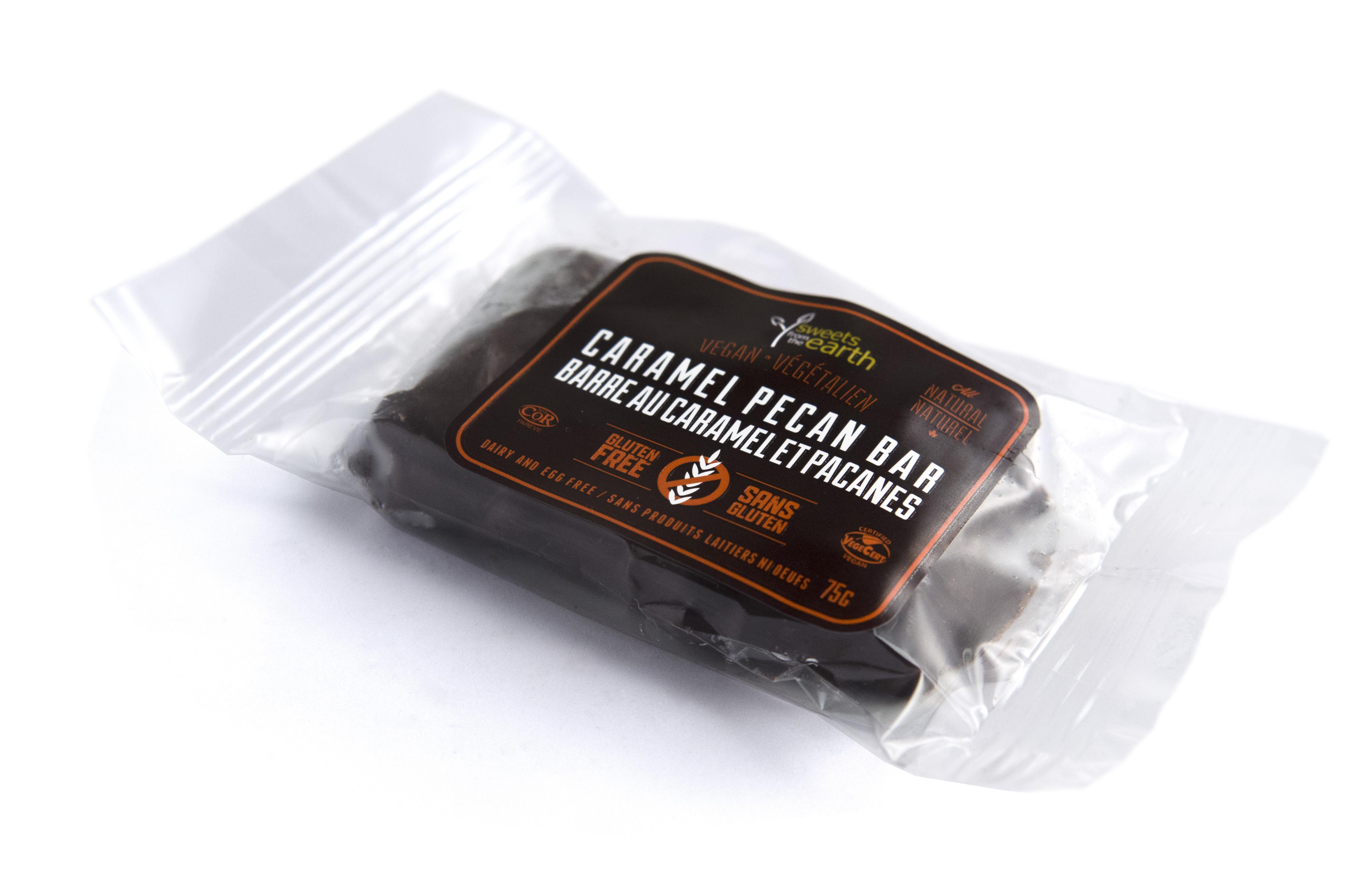 GF Caramel Pecan Bar side wrapped